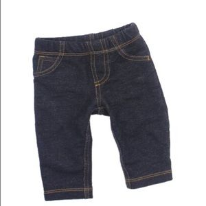 Carter's Denim Look Leggings, Size 3 M